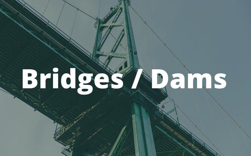 birdge dam construction