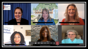 womens global empowerment zoom call