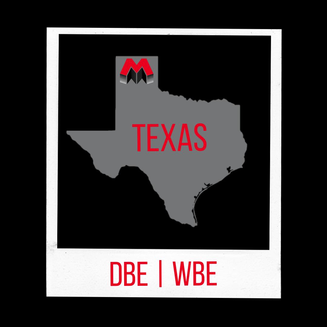 TX- DBE WBE certified